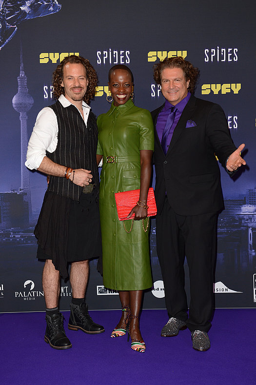 Falk Hentschel, Florence Kasumba und Francis Fulton-Smith<br>