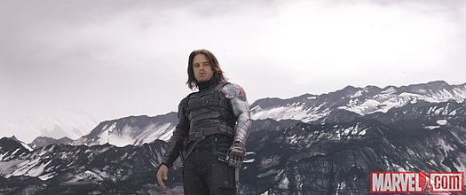 Bucky Barnes (Sebastian Stan) in Marvel's 'Captain America: Civil War'<br>