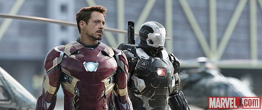Iron Man und War Machine<br>